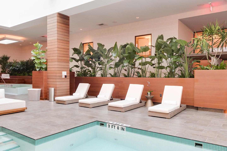 Pool at the Rock Spa, Hollywood, FL