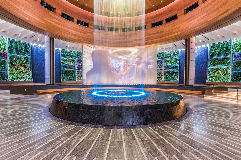 AgroSci Green Wall at Seminole Hard Rock Hotel & Casino The Oculus