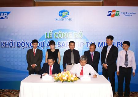 Tom Minh Phu dau tu 4.5 trieu usd trien khai SAP ERP