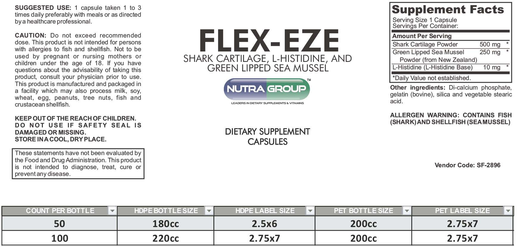private label joint supplement