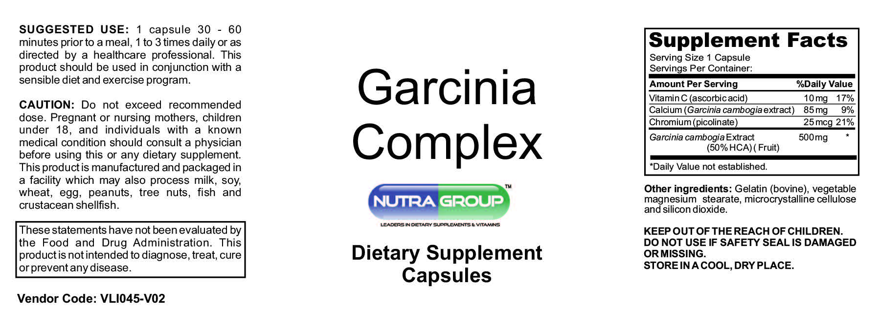 private label garcinia cambogia complex