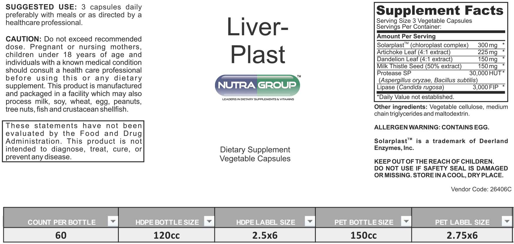 Private Label Liver Supplements