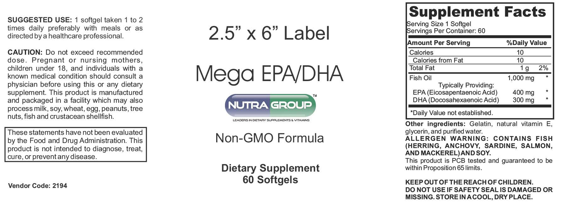 private label fish oil supplements