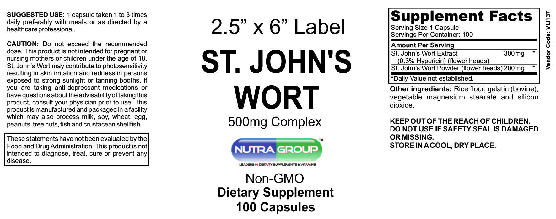 Private Label St John's Wort
