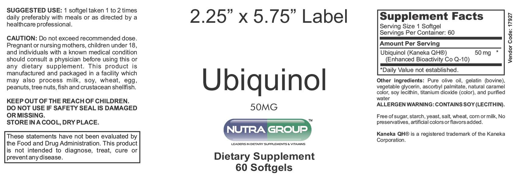 Private Label Ubiquinol Supplement