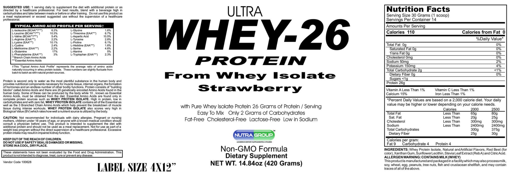 Private label Whey Protein Isolate