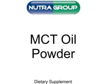 Private Label Organic MCT Oil Powder