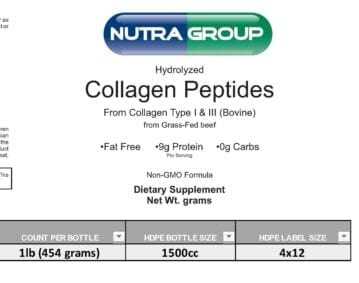 Private Label Hydrolyzed Collagen Powder