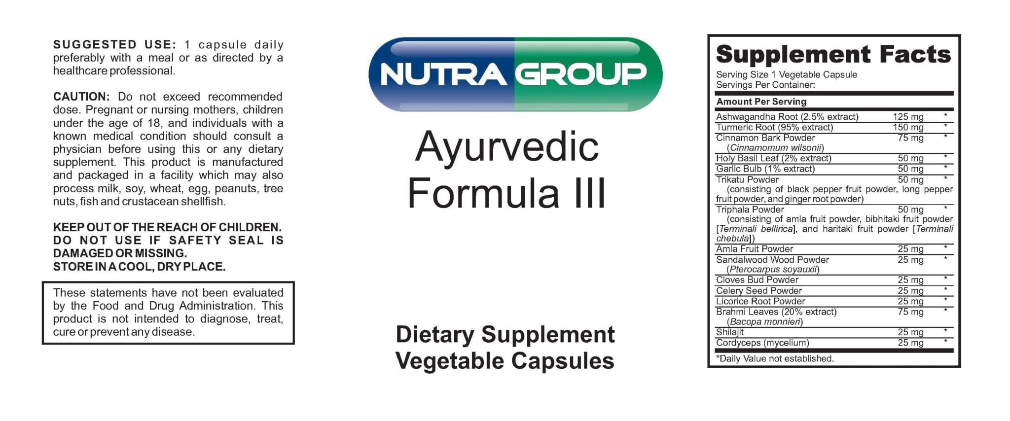 Private Label Ayurvedic Supplement