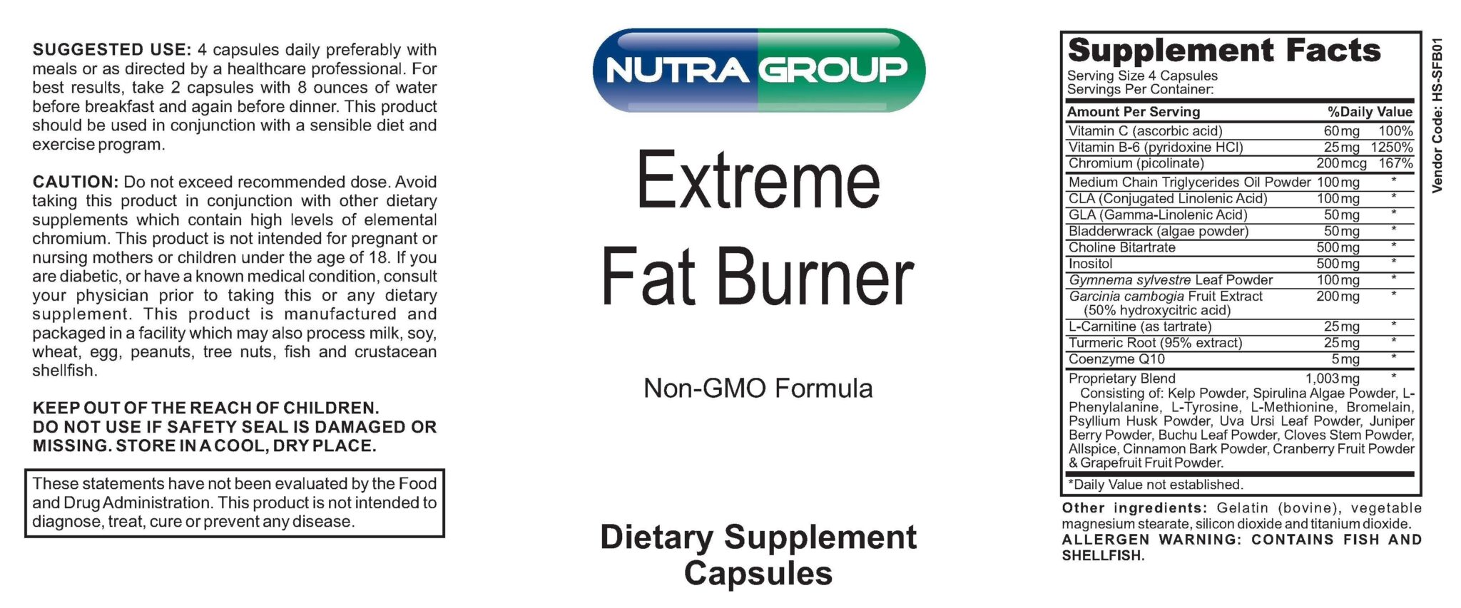 Private Label Fat Burner supplement