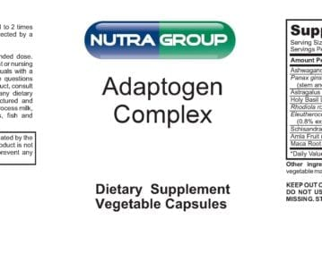 Private Label Adaptogen Supplements