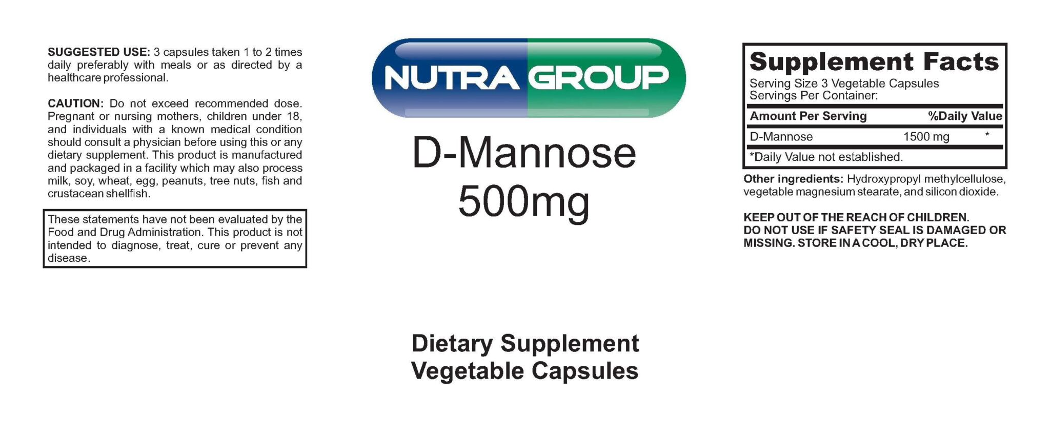 Private Label D-Mannose Supplement