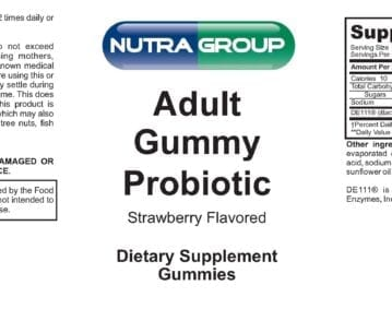 Adult Gummy Probiotic