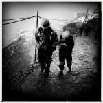 Miners at La Rinconada