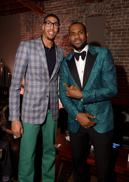 Who you taking #2: me or him? Photo Credit: Michael Loccasino/Getty Images