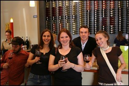 Wine tasting gang