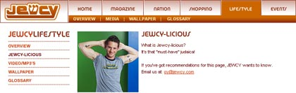 Jewcy-Licious Indeed