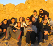 On top of Massada