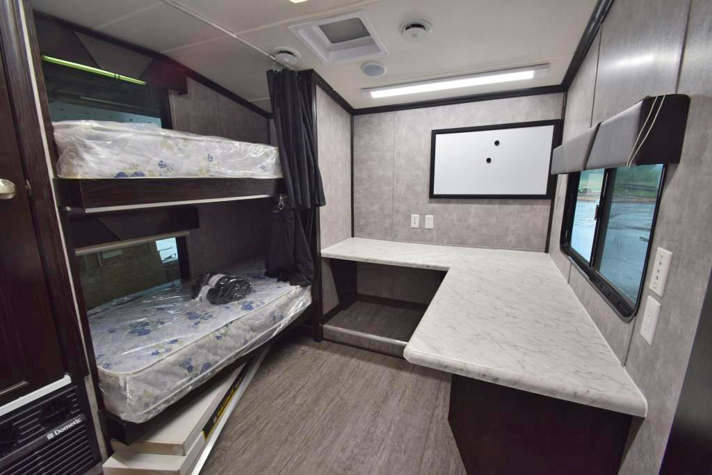 COMMAND TRAILER BUNK BEDS