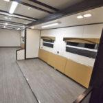 mobile command trailers interior