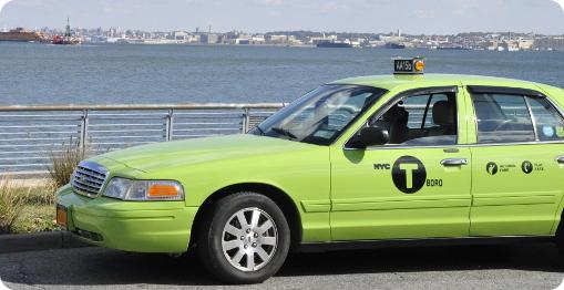 nyc green cab