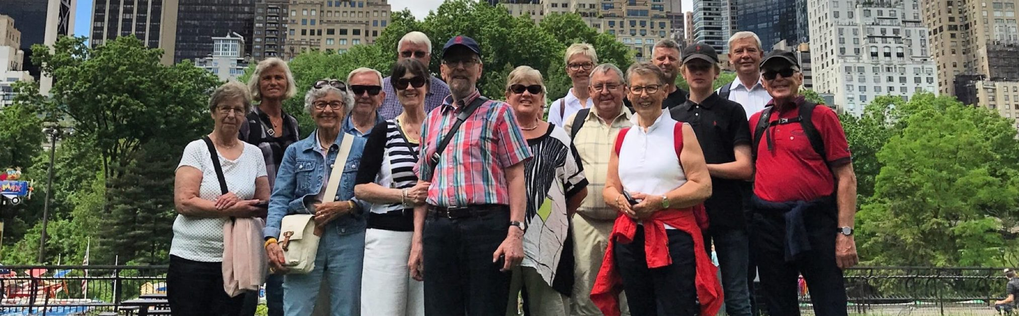 Gruppe tour på dansk i New York