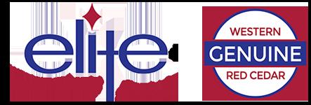 Elite Western Red Cedar Siding & Trim Logo