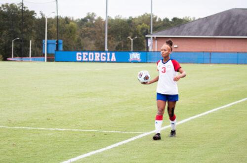 University of West Georgia's Soccer Player