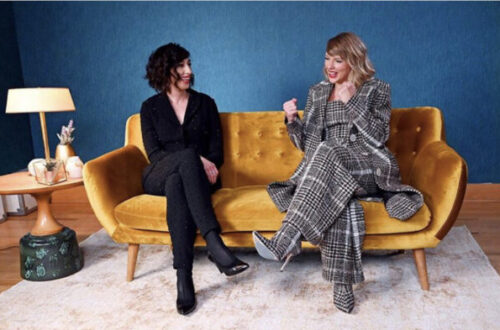 Taylor Swift sits down for an interview