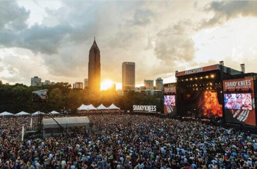 Shaky Knees Music Festival Venue
