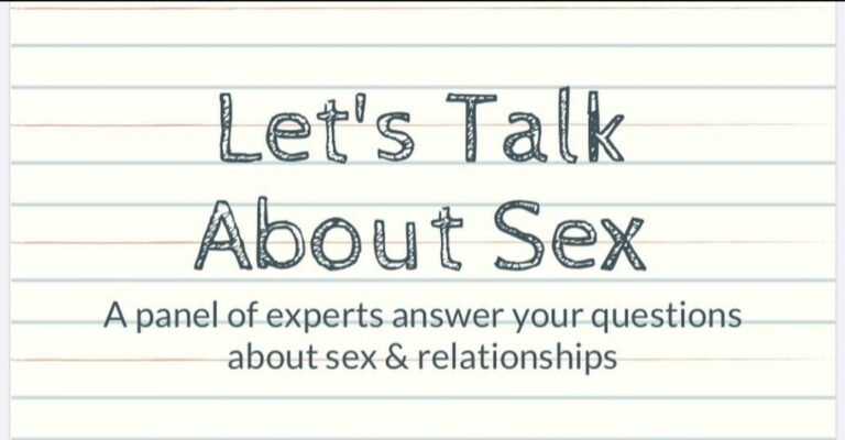 Let's Talk About Sex Podcast Logo