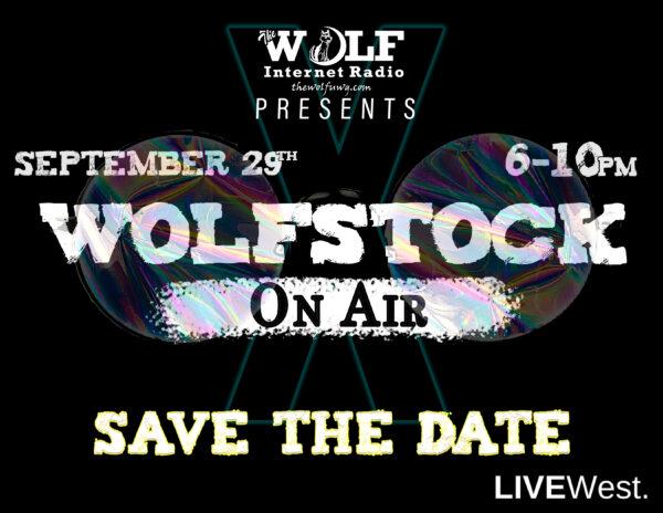WOLFstockOnAir 2020 Show Logo