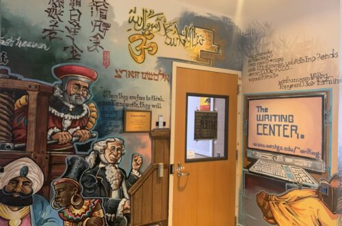 Entrance of UWG The Writing Center