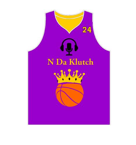 N Da Klutch Podcast basketball jersey