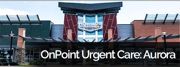 OnPoint Urgent Care Aurora Banner