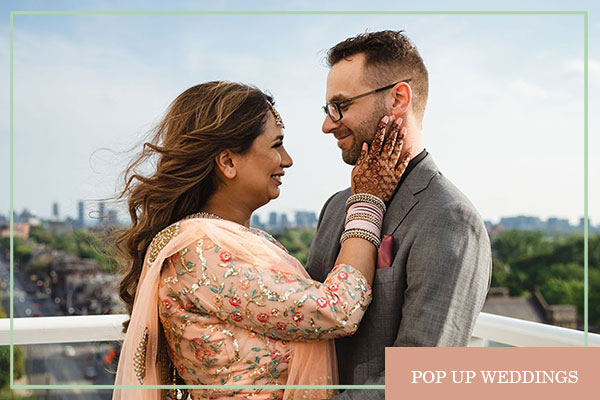 pop up wedding packages toronto