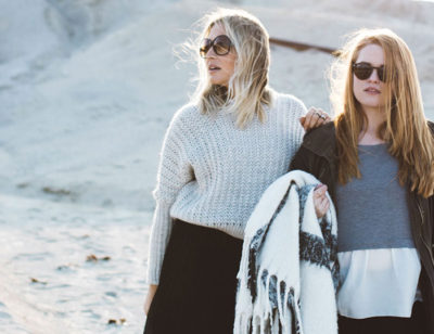 Sisters on the road, new Photography ideas.