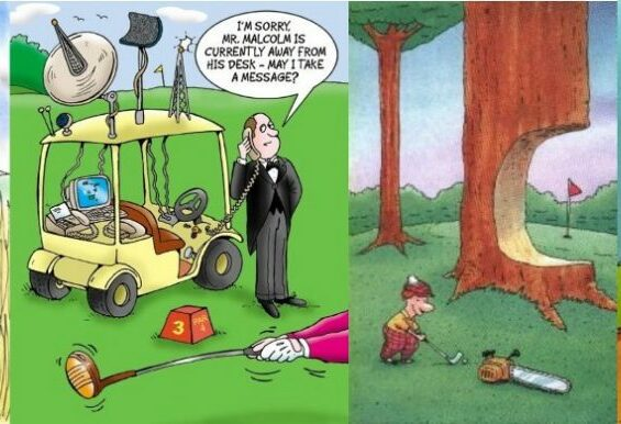 Golf Cartoon #405