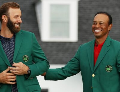 DJ domination, Tiger's 10 and an Augusta-inspired backyard
