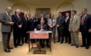 LEOSA Signed By President Bush