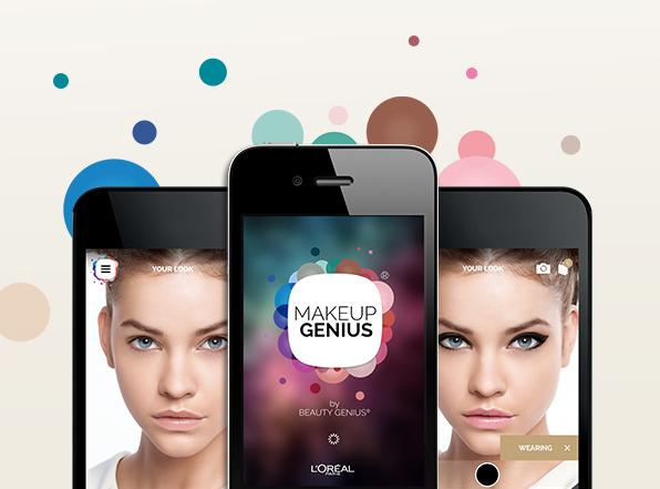 L'Oreal MakeupGenius app