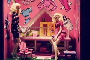 Moschino Barbie at La Rinascente