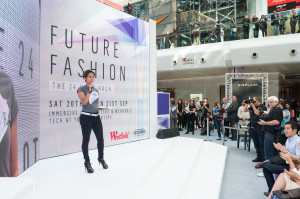 Liz Bacelar of Decoded Fashion at Westfield's Hackathon