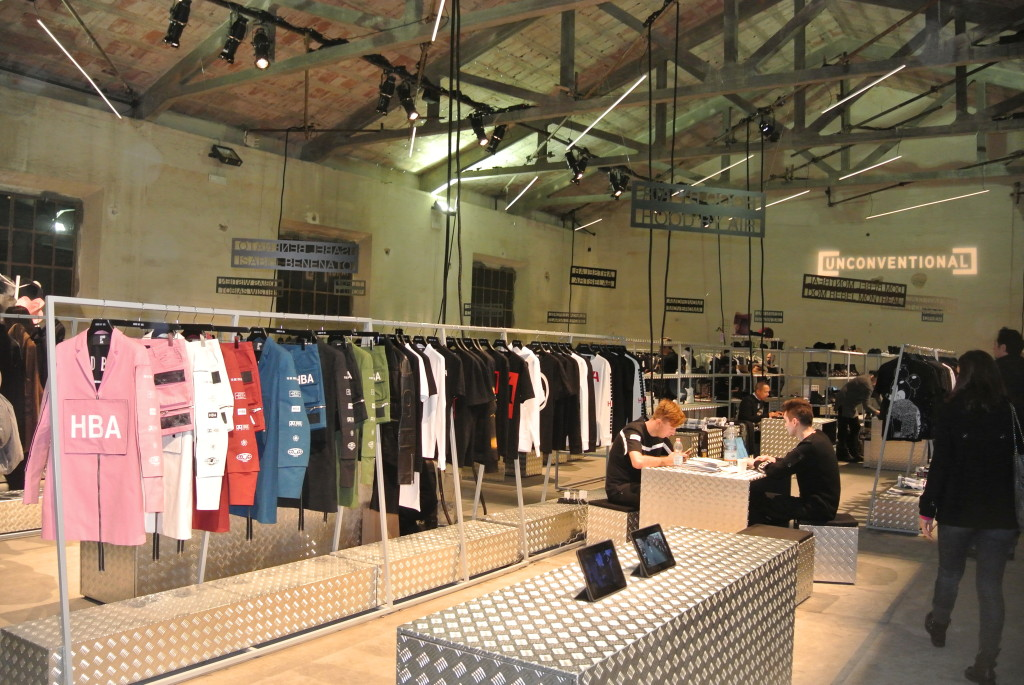 Unconventional streetwear pavillion at Pitti Uomo AW15