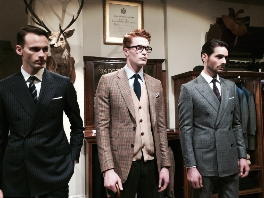 Mr Porter's Kingsman collection
