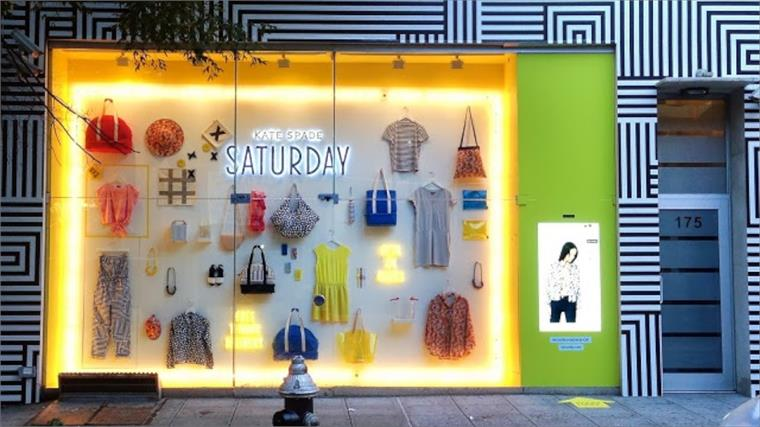 Kate Spade eBay digital store front, New York