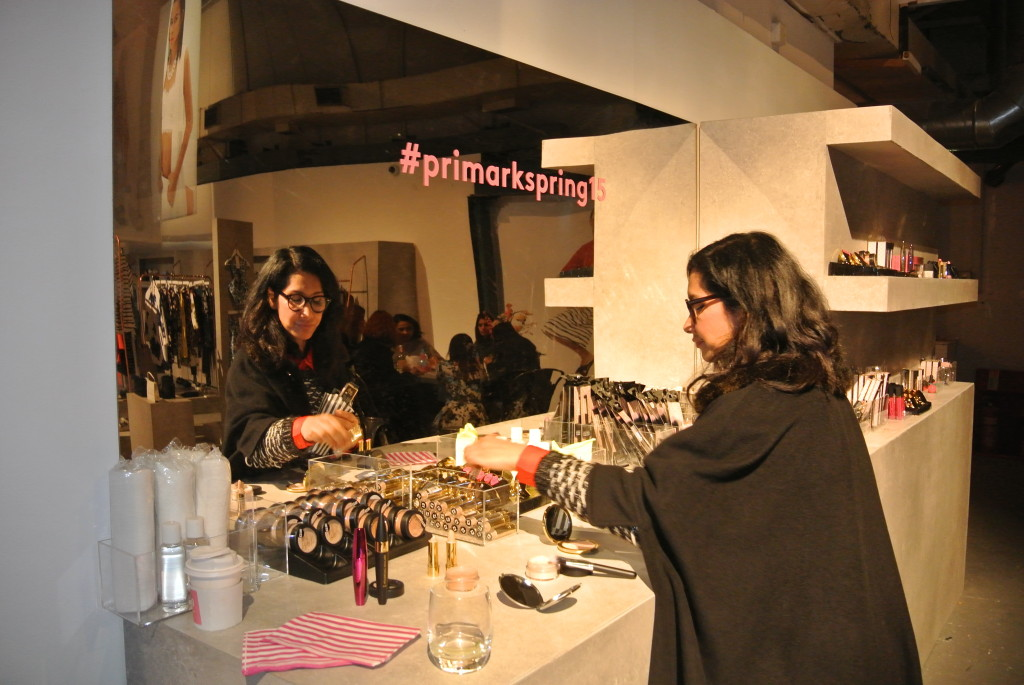 Primark SS15 beauty press day