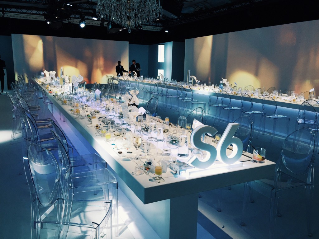 Samsung's S6 Paris Fashion Week dinner