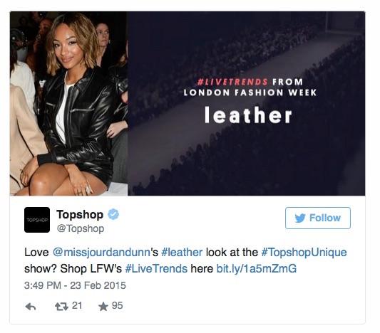 Topshop-twitter-Live-Trends