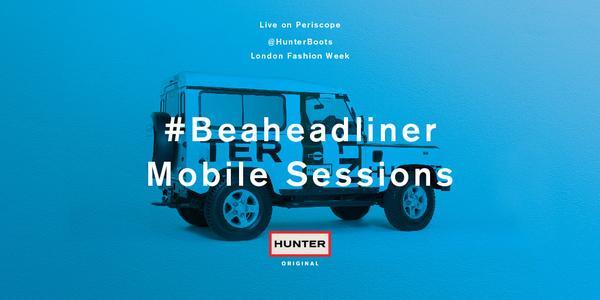 Hunter social #Beaheadliner image